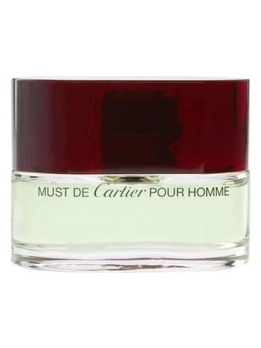 Must De Cartier Pour Homme Cartier одеколон аромат для мужчин 2000