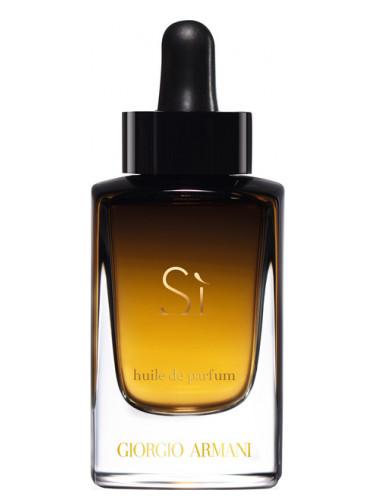 Si Huile de Parfum Giorgio Armani voor dames