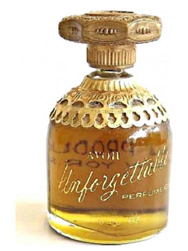 Unforgettable Avon Perfume A Fragrance For Women 1965
