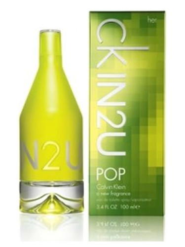 Vellidte CK IN2U POP for Her Calvin Klein perfume - a fragrance for women 2008 HG-17