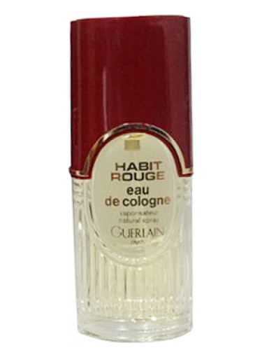 Habit Rouge Eau De Cologne Guerlain Cologne A Fragrance For Men 1965