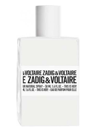 Populære This is Her Zadig & Voltaire perfume - a fragrance for women 2016 KA-71