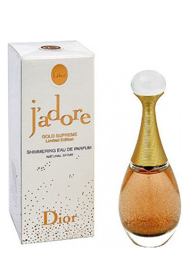 Jadore Gold Supreme Divinement Or Christian Dior аромат аромат