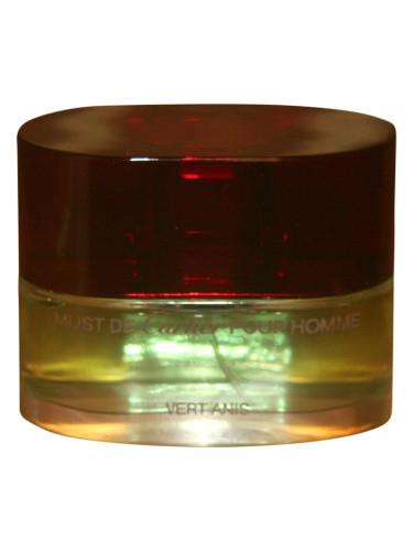 999dce1d44c Must de Cartier Pour Homme Vert Anis Cartier colônia - a fragrância ...
