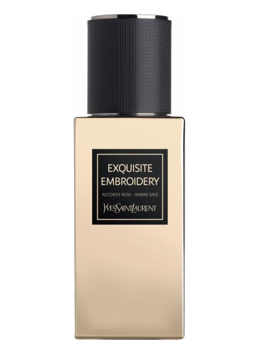 cabd83bdbc5 Exquisite Embroidery Yves Saint Laurent perfume - a new fragrance for women  and men 2017