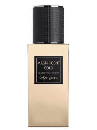 Magnificent Gold Yves Saint Laurent Perfume A New Fragrance For