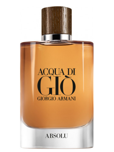 Acqua Di Gio Absolu Giorgio Armani Cologne A New Fragrance For Men