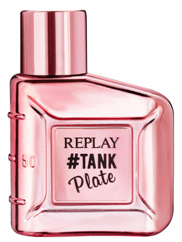 f4baa8691 #Tank Plate for Her Replay perfume - a new fragrance for women 2018