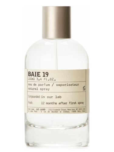 Baie 19 Le Labo for women and men