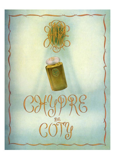 chypre coty perfume a fragrance for women 1917