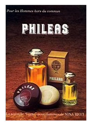 Phileas Nina Ricci Cologne A Fragrance For Men 1984