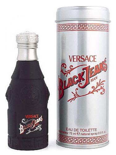 Black Pour Versace Homme Jeans 1Tlc3FKJ
