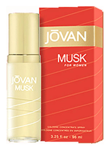 Musk Jovan Perfume A Fragrance For Women 1972