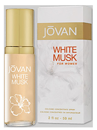 White Musk Jovan Perfume A Fragrance For Women 1990