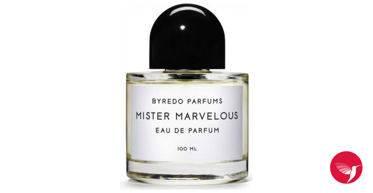 Mister Marvelous Byredo Cologne A Fragrance For Men 2011