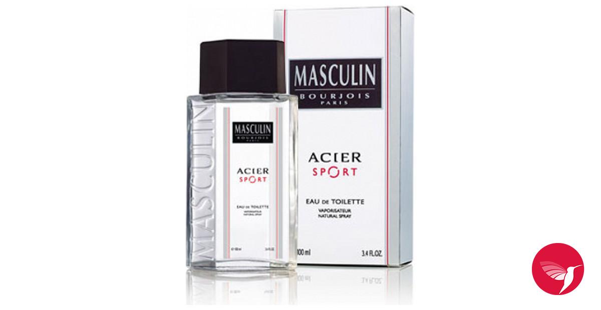 Cologne Homme Acier Parfum Sport Pour Masculin Un 2004 Bourjois zVUpSM