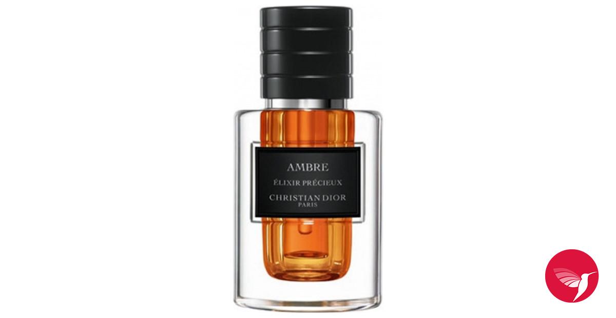 Ambre Elixir Precieux Christian Dior аромат аромат для мужчин и