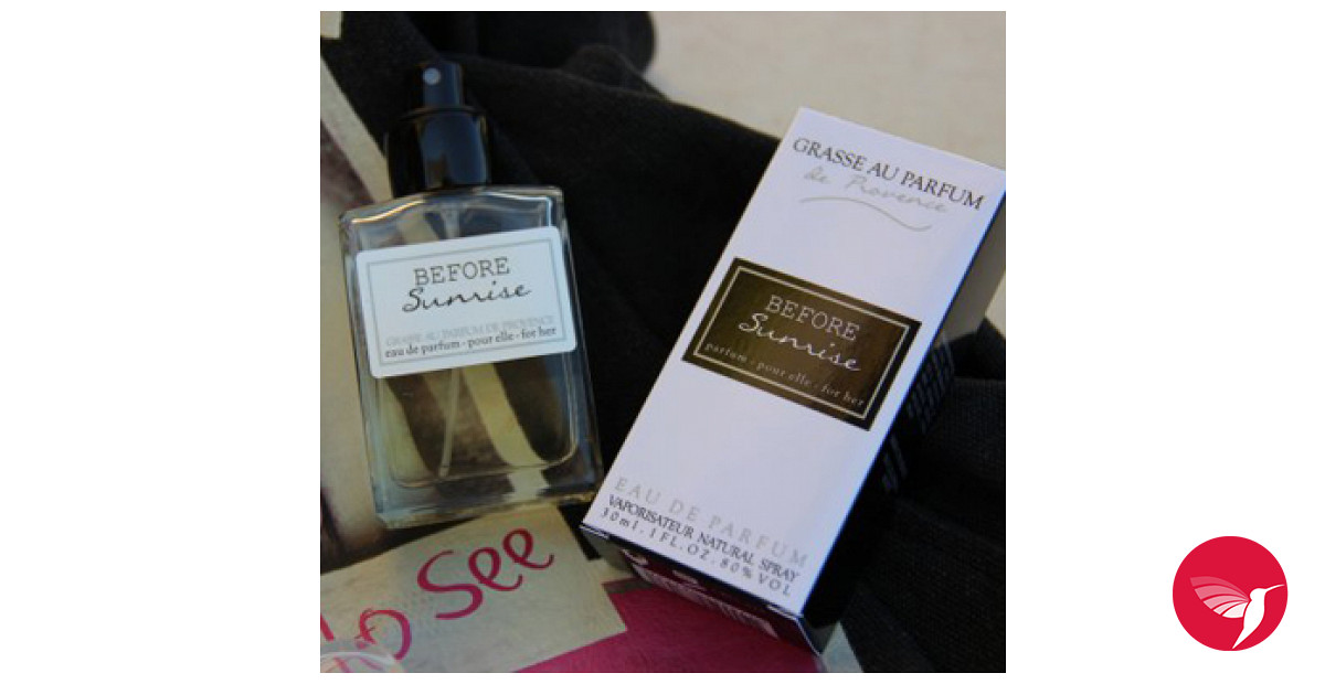 Before Sunrise Grasse Au Parfum Perfume A Fragrance For Women