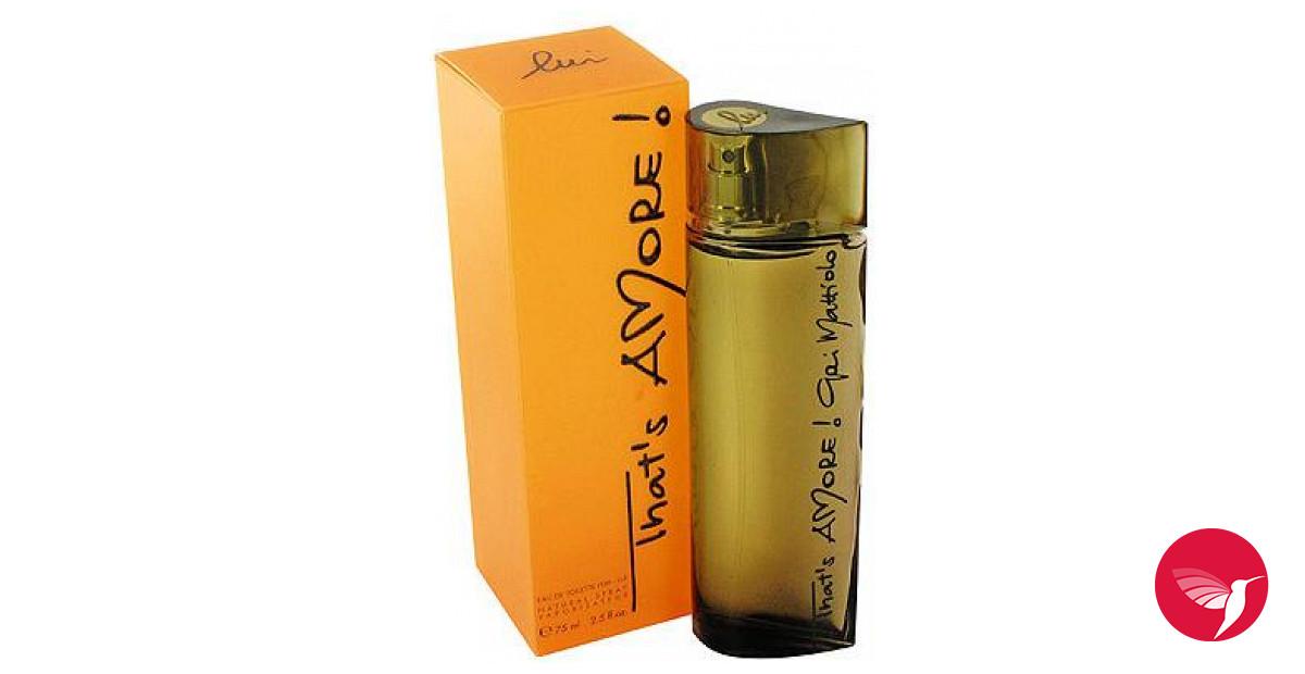 online store 2bad3 f93ee That's Amore! Lui Gai Mattiolo - una fragranza da uomo 2000