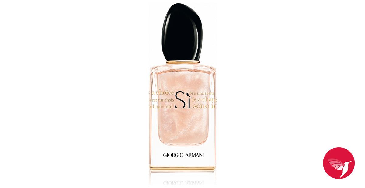 Si Sono Io Giorgio Armani Perfume A New Fragrance For Women 2017