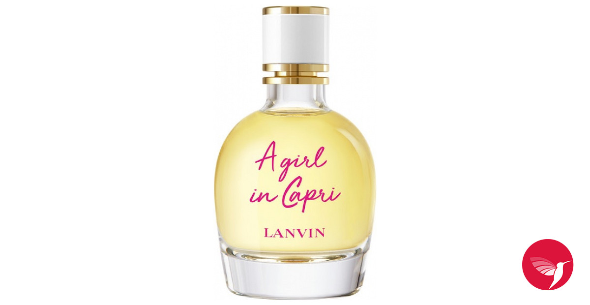 1f42a35342 A Girl In Capri Lanvin perfume - a new fragrance for women 2019