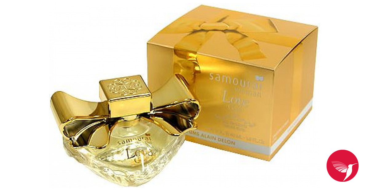 Samourai Woman Love Gold Alain Delon аромат аромат для женщин