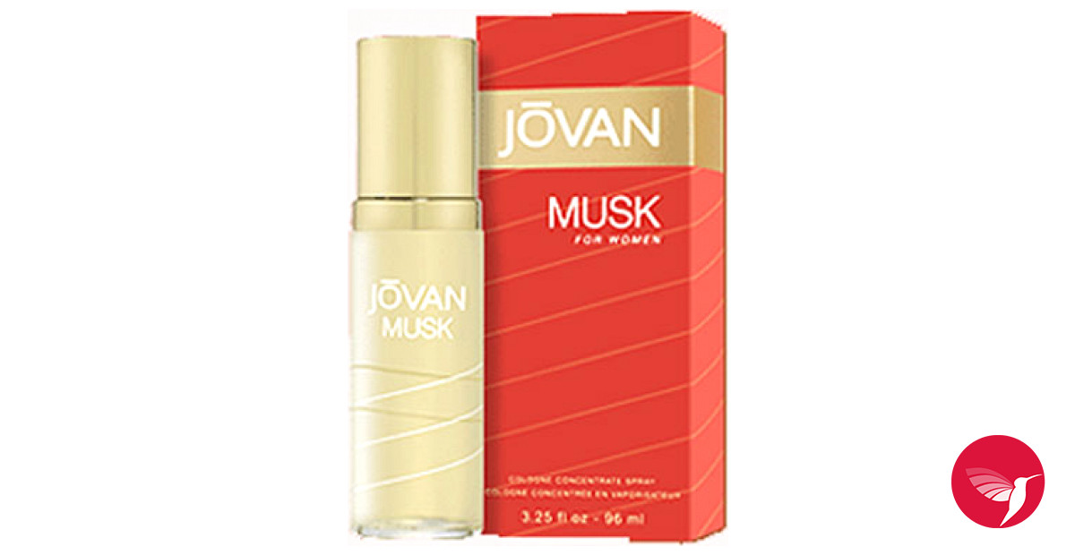 Musk Jovan Perfume A Fragrance For Women 1972