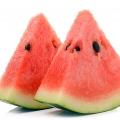 Watermelon Cucurbitaceae familly