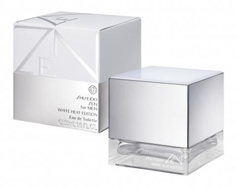 For Parfum White Shiseido Un Cologne Zen Men Heat Edition Pour 5Rj4LA