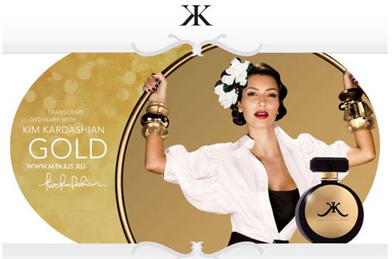 Gold Kim Kardashian parfum - een geur voor dames 2011