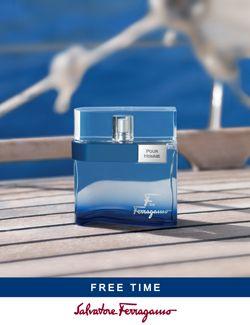 F by Ferragamo Free Time Salvatore Ferragamo Kolonjska voda - parfem ... dbaf92320c