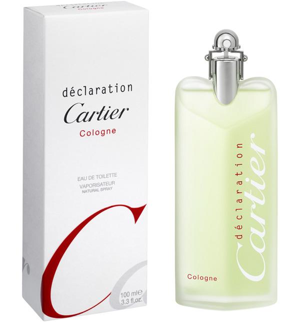 Declaration Cologne Cartier одеколон аромат для мужчин 2010