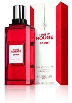 Habit Rouge Sport Guerlain одеколон аромат для мужчин 2009