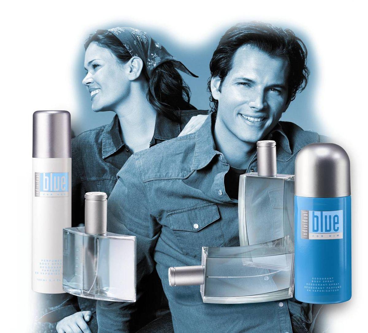Individual Blue For Him Avon одеколон аромат для мужчин 2003
