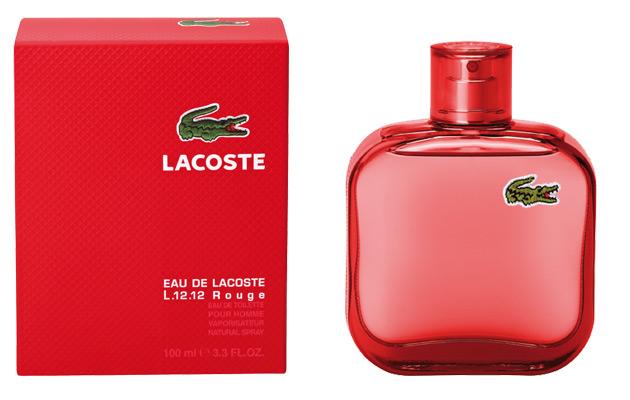 Fantastyczny Eau de Lacoste L.12.12. Red Lacoste Fragrances cologne - a KC85