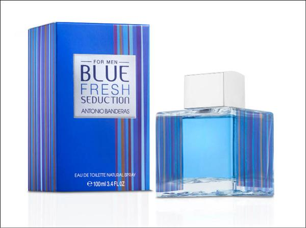 aa8a4a1fb Blue Fresh Seduction for Men Antonio Banderas for men Pictures. Antonio  Banderas presented limited edition fragrance ...