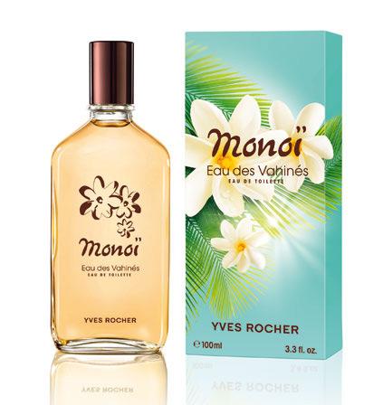 Monoi Eau Des Vahines Yves Rocher Parfum Un Parfum Pour Femme 2012