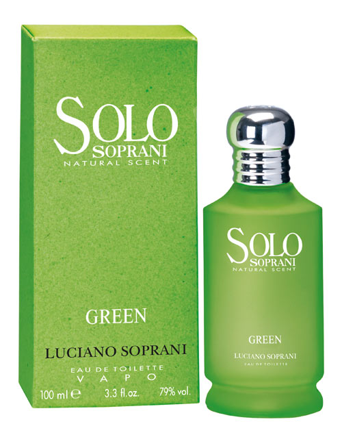 cheapest price huge discount authentic quality Solo Soprani Green Luciano Soprani for women and men