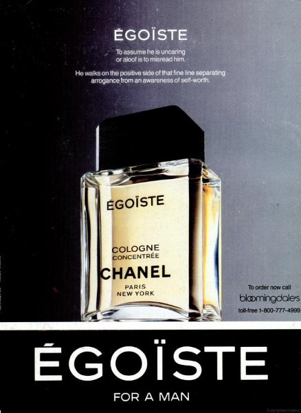 c050d129b0d Egoiste Cologne Concentree Chanel Colonia - una fragancia para ...