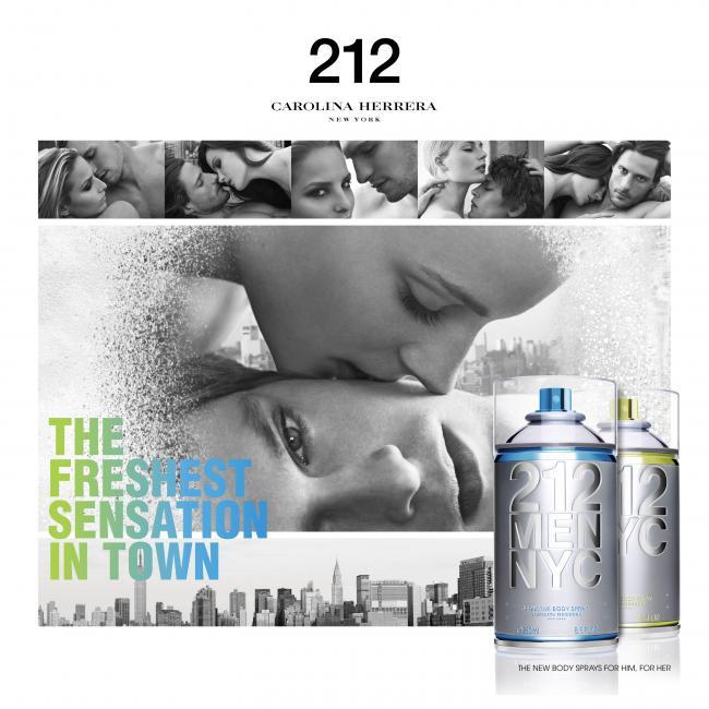 60ef9c7f8d3 212 Men NYC Body Spray Carolina Herrera Colonia - una fragancia para ...