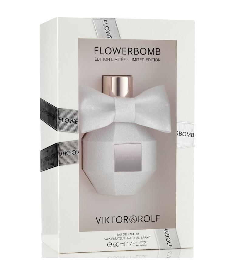 Flowerbomb pink crystal limited edition viktor&rolf perfume.