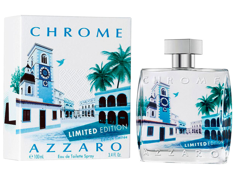 azzaro chrome summer limited edition
