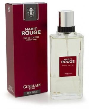 Habit Rouge Eau De Parfum Guerlain Cologne Un Parfum Pour Homme 1965