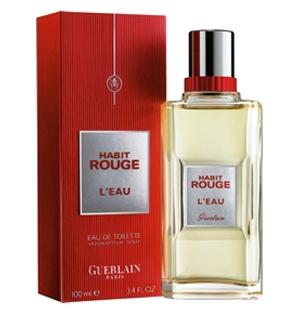 Habit Rouge Leau Guerlain Cologne Un Parfum Pour Homme 2011