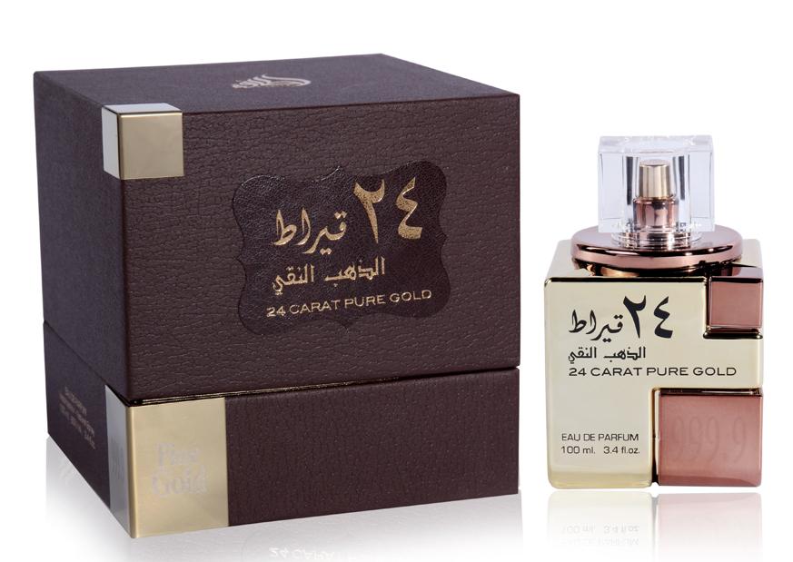 Pure Lattafa 24 Parfum Pour Carat Gold Et Un Homme Perfumes Yfgyb67