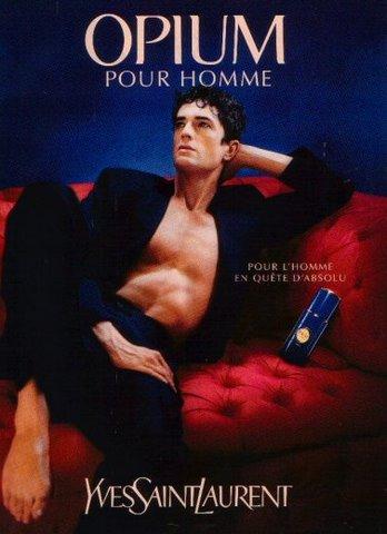 Opium Pour Homme Yves Saint Laurent Colonie Un Parfum De Barbati 1995