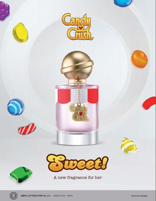 candy crush parfym