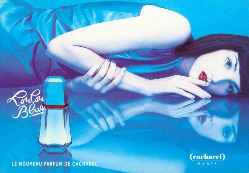 LouLou Blue Cacharel parfum een geur voor dames 1995