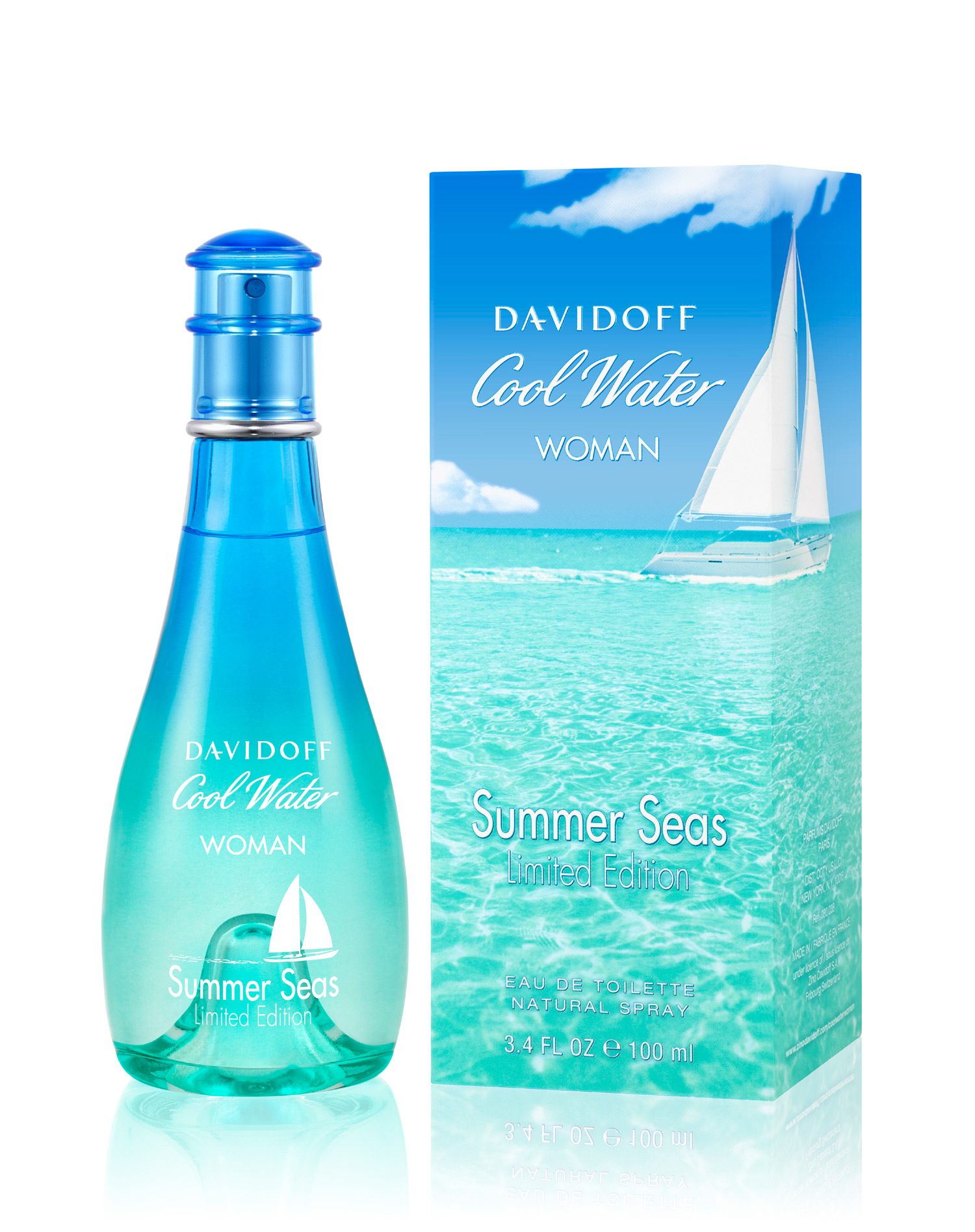 Cool Water Woman Summer Seas Davidoff Perfume A Fragrance For