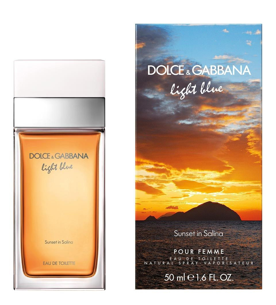 Light Blue Sunset In Salina Dolce Amp Gabbana Una Fragranza